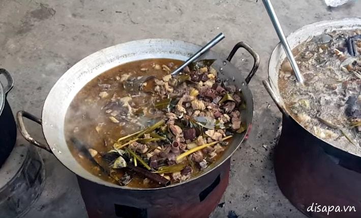 Món ăn ngon ở Sapa - thắng cố Sapa